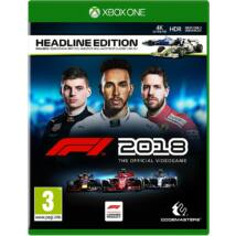 F1 2018: The Official Videogame (Headline Edition) Xbox One (használt)