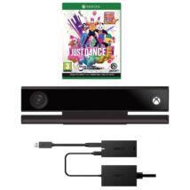 Xbox One Kinect + Adapter Szett (újszerű, 6 hónap garancia) + Just Dance 2019