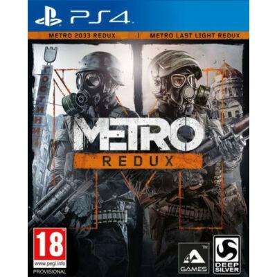 Metro Redux PlayStation 4 (használt)