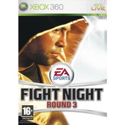 EA Sports Fight Night Round 3 Xbox 360 (használt)