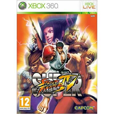 Super Street Fighter IV Xbox 360 (használt)