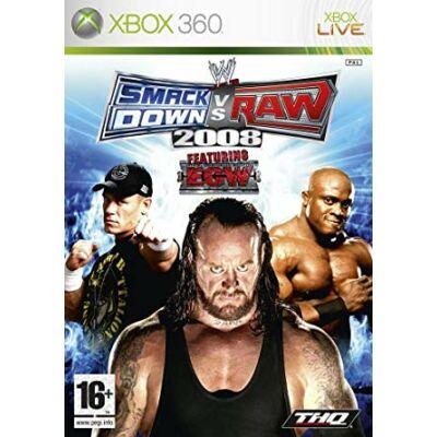 WWE Smack Down vs Raw 2008 Featuring ECW Xbox 360 (használt)