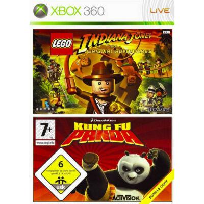 LEGO Indiana Jones + Kung Fu Panda (double pack) Xbox 360 (használt)
