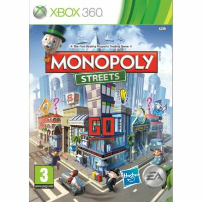 Monopoly Streets Xbox 360 (használt)