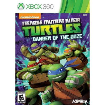 Nickelodeon Teenage Mutant Ninja Turtles Danger of the Ooze Xbox 360 (használt)