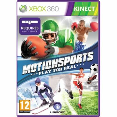 MotionSports: Play for Real Xbox 360 (használt)