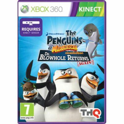 The Penguins of Madagascar Dr. Blowhole Returns Again! Xbox 360 (használt)