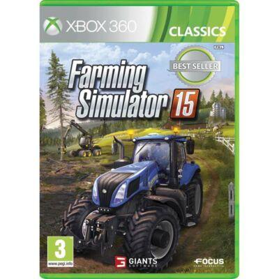 Farming Simulator 15 Xbox 360 (használt)