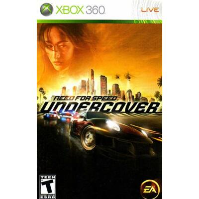 Need for Speed Undercover Xbox 360 (használt)