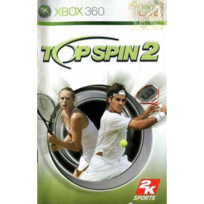 Top Spin 2 Xbox 360 (használt)