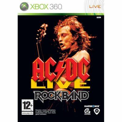 AC/DC Live Rock Band Xbox 360 (használt)