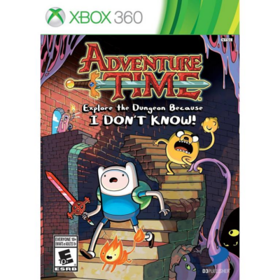 Adventure Time: Explore the Dungeon Because I Don't Know! Xbox 360 (használt)