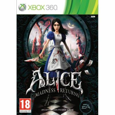 Alice: Madness Returns Xbox One Kompatibilis Xbox 360 (használt)