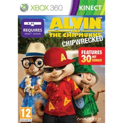 Alvin & The Chipmunks - Chip Wrecked Xbox 360 (használt)