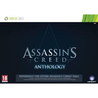 Assassin's Creed Anthology Xbox 360 (használt, 5 db játékot tartalmaz)