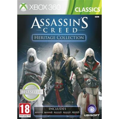 Assassin's Creed Heritage Collection Xbox 360 (használt)