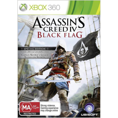 Assassin's Creed IV : Black Flag Xbox One Kompatibilis Xbox 360 (használt)