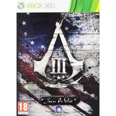 Assassins Creed 3 Join Or Die Ed Xbox 360 (használt)