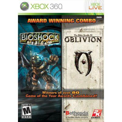 Bioshock & The Elder Scrolls IV Oblivion Xbox One Kompatibilis Xbox 360 (használt)