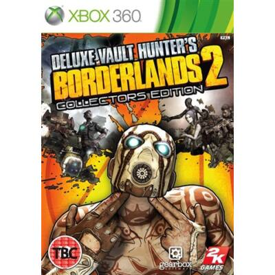 Borderlands 2 Deluxe Vault Hunter's Collectors Edition Xbox 360 (használt)