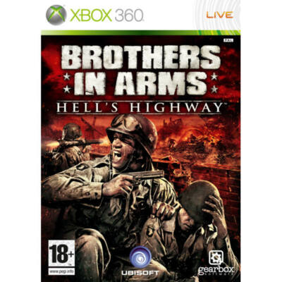 Brother In Arms Hell's Highway Xbox 360 (használt)