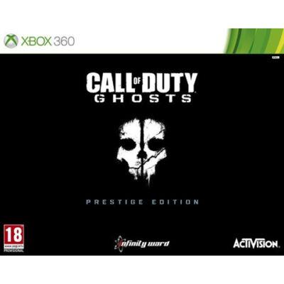 Call Of Duty Ghosts Prestige Edition (+Camera+Para Strap) Xbox 360 (használt)