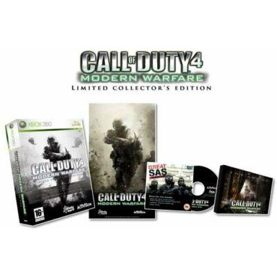 Call of Duty 4 Modern Warfare Limited Collector's Edition Xbox One Kompatibilis Xbox 360 (használt)