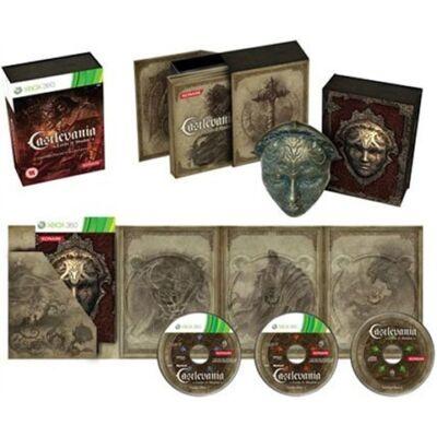 Castlevania Lords of Shadow Collectors Ed Mask+CD Xbox 360 (használt)