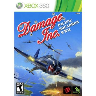 Damage Inc. Pacific Squadron WWII +flight Stick Xbox 360 (használt)