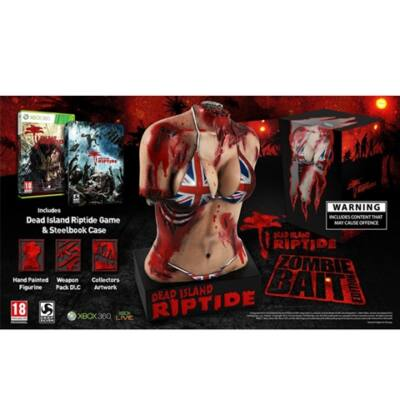 Dead Island Riptide Zombie Bait Edition Xbox 360 (használt)