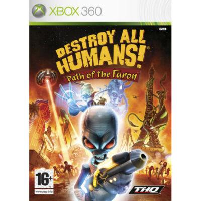 Destroy All Humans Path of The Furon Xbox One Kompatibilis Xbox 360 (használt)