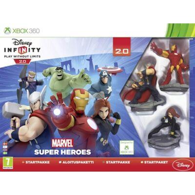 Disney Infinity 2.0 Marvel Super Heroes Starter Pack Xbox 360 (használt)