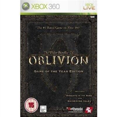 Elder Scrolls IV Oblivion GOTY Edition (2 Disc) Xbox 360 (használt)