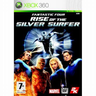 Fantastic Four: Rise of the Silver Surfer Xbox 360 (használt)