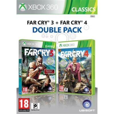 Far Cry 3 + Far Cry 4 (Double Pack) Xbox 360 (használt)