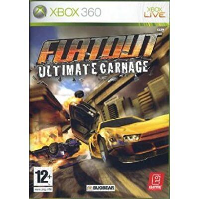 FlatOut Ultimate Carnage Xbox 360 (használt)
