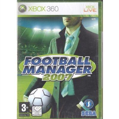 Football Manager 2007 Xbox 360 (használt)