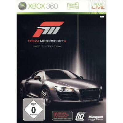 Forza Motorsport 3 Limited Collector's Edition Xbox 360 (használt)