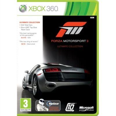 Forza Motorsport 3 Ultimate Ed. (2 Disc) Xbox 360 (használt)