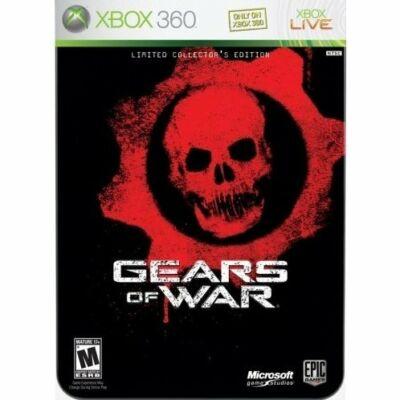 Gears of War Limited Collector Edition fémdobozos Xbox 360 (használt)