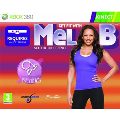 Get Fit with Mel B + Resistance Band Xbox 360 (használt)