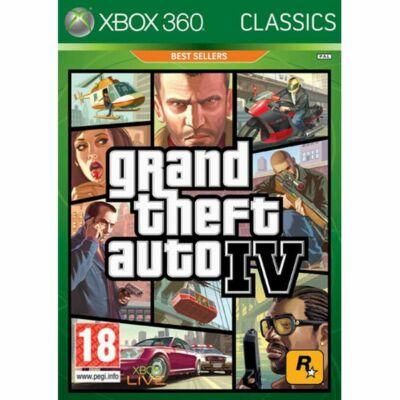 Grand Theft Auto IV (4) Xbox One Kompatibilis Xbox 360 (használt)