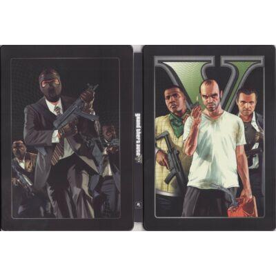 Grand Theft Auto V Steelbook Xbox 360 (használt)