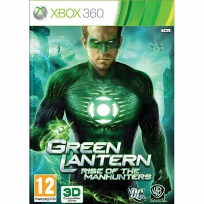 Green Lantern: Rise of the Manhunters Xbox 360 (használt)