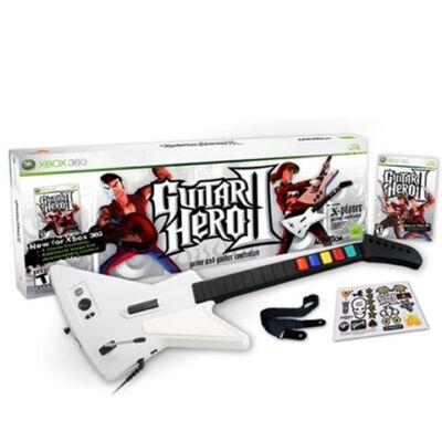 Guitar Hero 2 + Gitár Xbox 360 (használt)