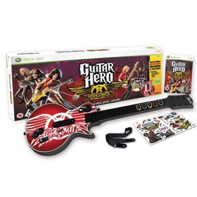 Guitar Hero Aerosmith (With Wireless Gui Xbox 360 (használt)