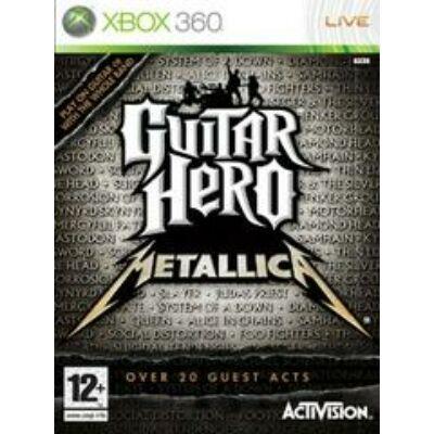 Guitar Hero Metallica Xbox 360 (használt)