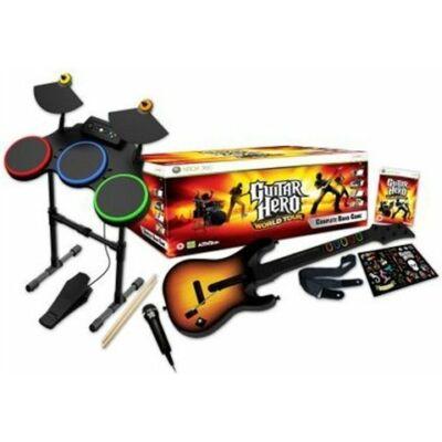 Guitar Hero World Tour - Band Bundle Xbox 360 (használt)