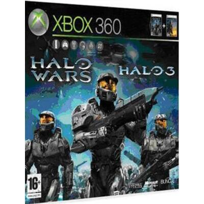 Halo 3 & Halo Wars (15) Xbox 360 (használt)