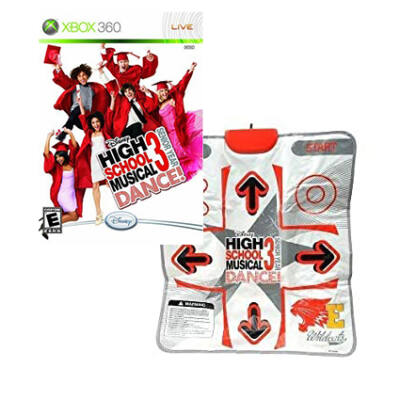 High School Musical 3 Dance + Mat Xbox 360 (használt)